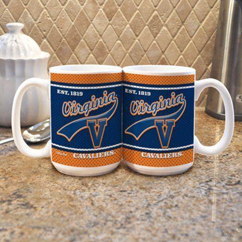 Virginia Cavaliers Coffee Mug - Jersey Style Z157-8774660705
