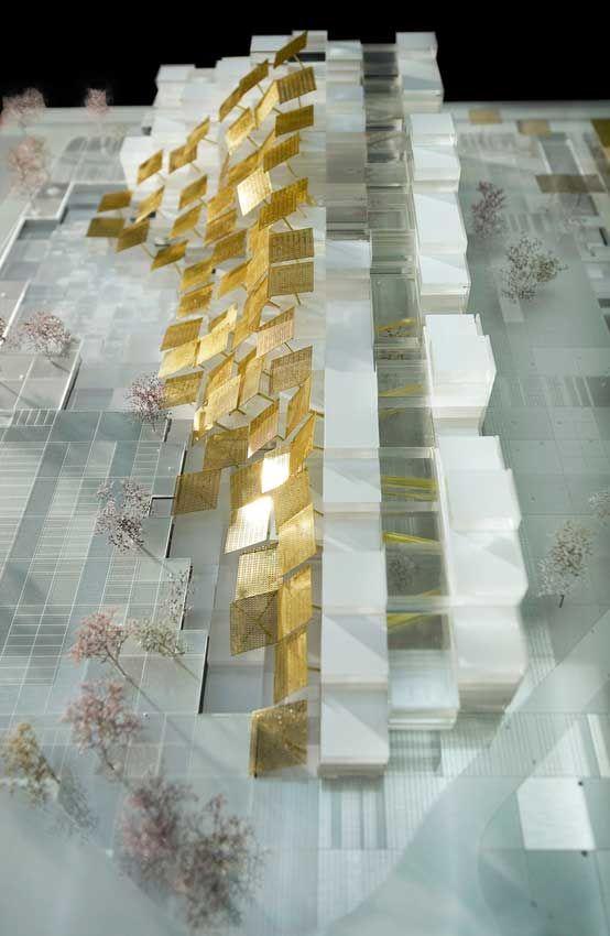 Centro Direzionale Exploration and Production di ENI San Donato - maquette de maison a construire