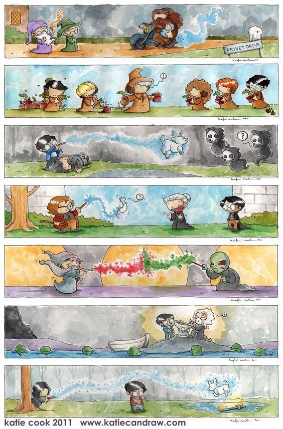 5 What Is Your Favorite Harry Potter Fanart Quora Harry Potter World Psychedelische Kunst Zeichnungen