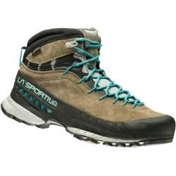 Photo of La Sportiva Tx4 Mid Gtx women approach shoes beige, taupe / emerald 42.0 Eu La Sportiva