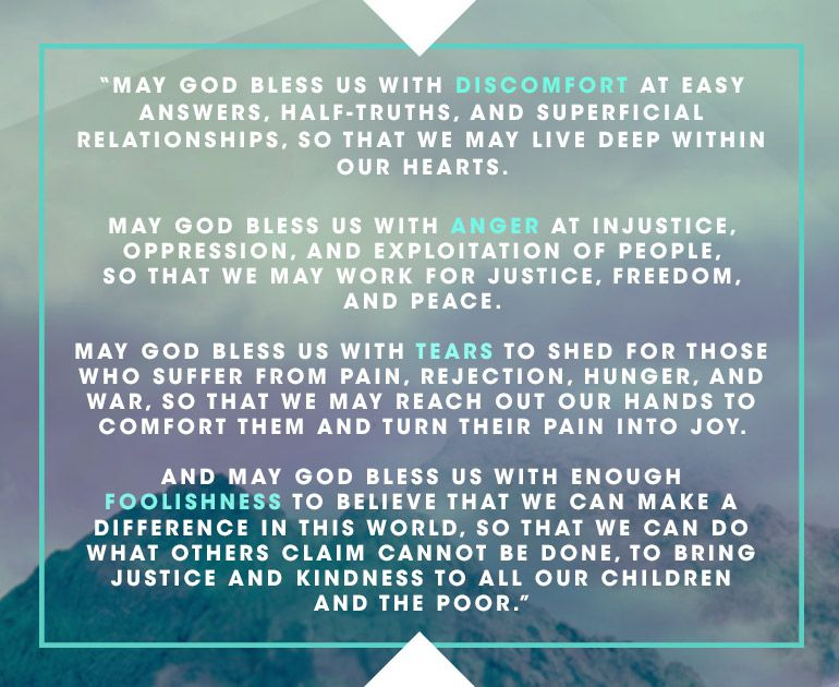 Franciscan Benediction    so much encouragement from this in the