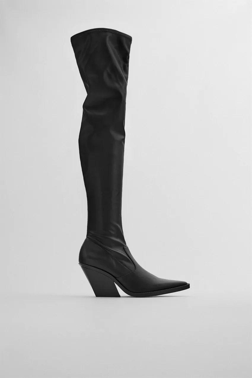 44+ Over the knee cowboy boots ideas info