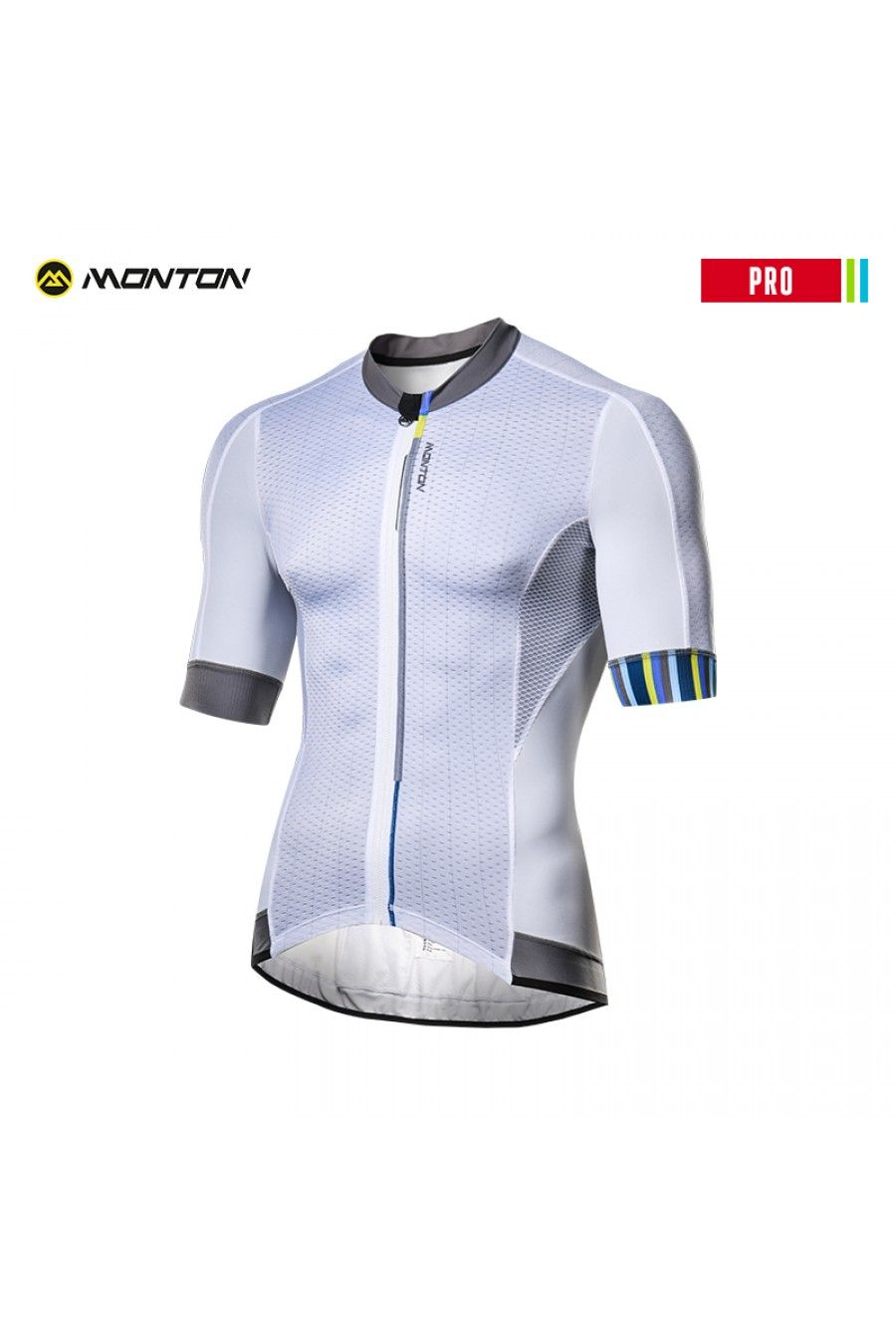 Plain white cycling jersey  72778621b