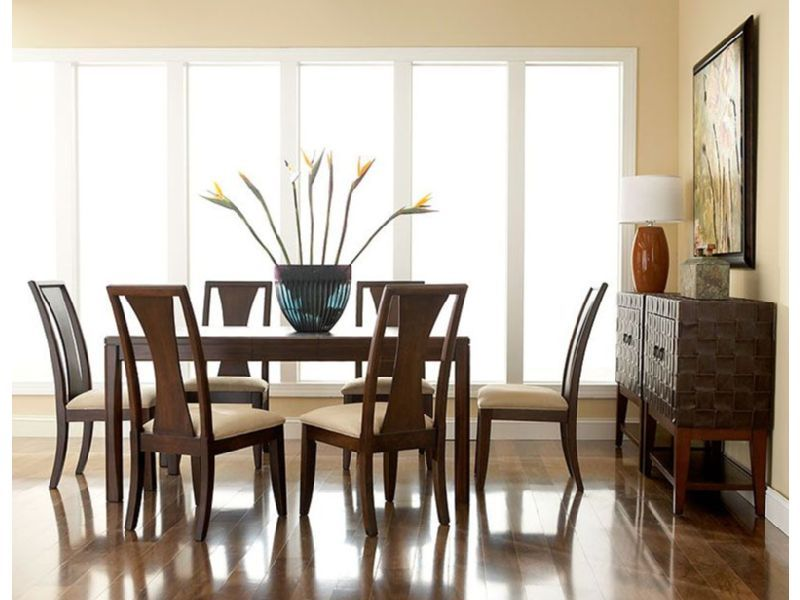 Rent The Madden Rectangular Dining Room What Is The Size Of Table
