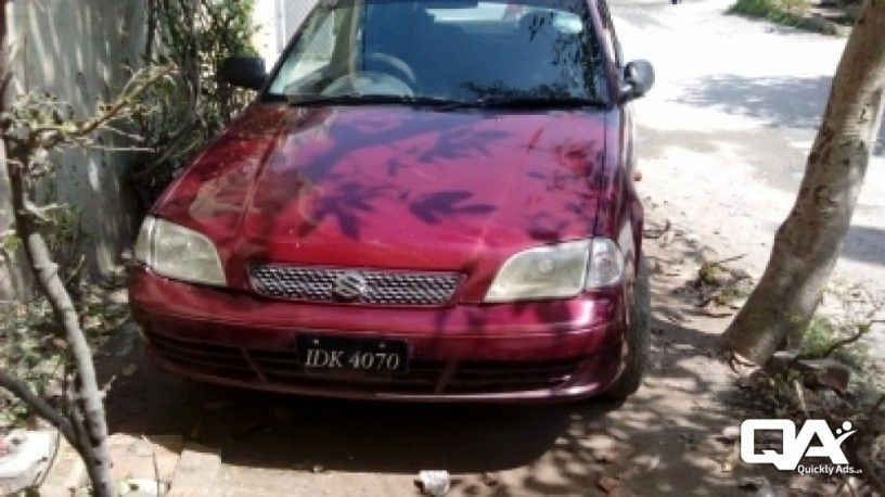 2000 Suzuki Cultus Vxr For Sale In Islamabad Rawalpindi Rawalpindi Buy Sell Quicklyads Pk Suzuki Sale Rawalpindi