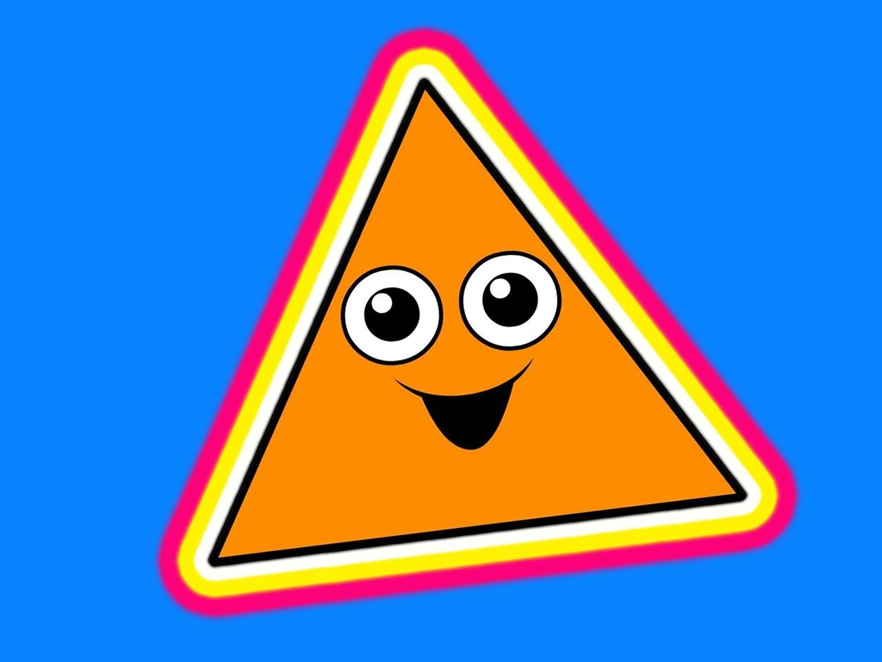 """""""This Little Triangle"""" - Shapes Learning Song, Teach ..."""