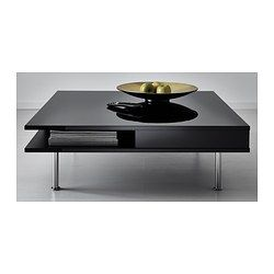 Tofteryd Coffee Table High Gloss Black 37 3 8x37 3 8 Coffee