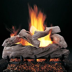Manzanita Vented Gas Log Set Live On The Edge And Switch Up Your