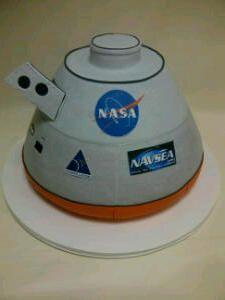 Orion Space Ship Birthday cake Ridiculous Birthday Cakes
