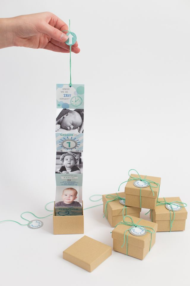 DIY Birthday Invitations In A Box Little Town Life Birthdays - Creative diy birthday invitations in a box