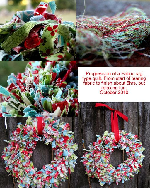 12 Days of Christmas Fabric Wreath Fabric wreath, Christmas fabric