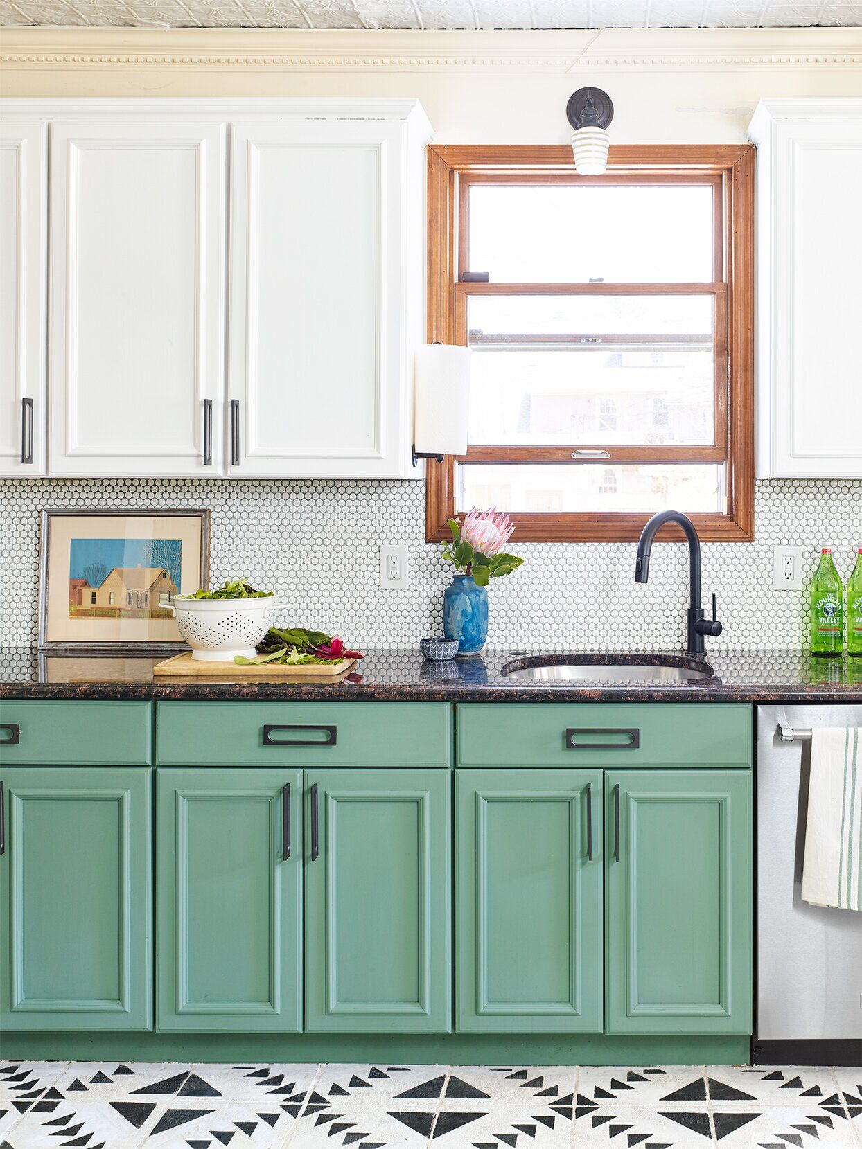 11 Best Green Paint Colors For Cabinetry According To Experts In 2020 Budget Kitchen Remodel Green Kitchen Kitchen Remodel