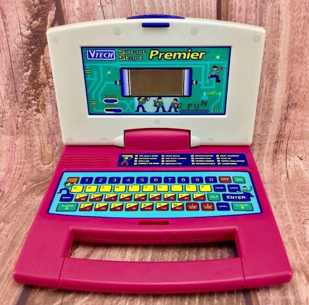 Vintage 1990's Vtech Smart Start Premier Laptop Educational Learning  Computer
