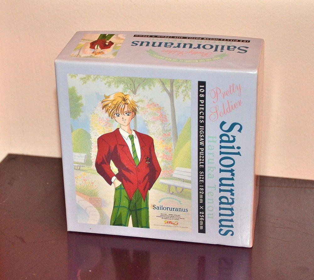 Sailor Uranus Sailor Moon S S jigsaw puzzle 108 piece Japanese vintage Japan
