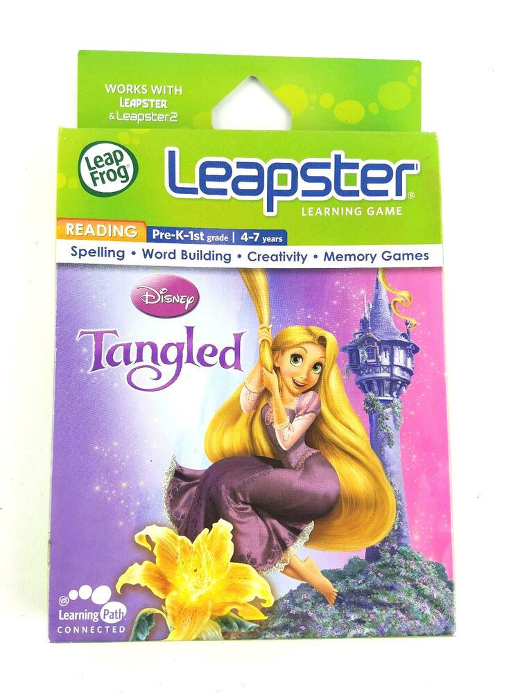 Leap Frog Leapster /& Leapster 2 Disney Fairies PRE-K to 1st Grade NEW