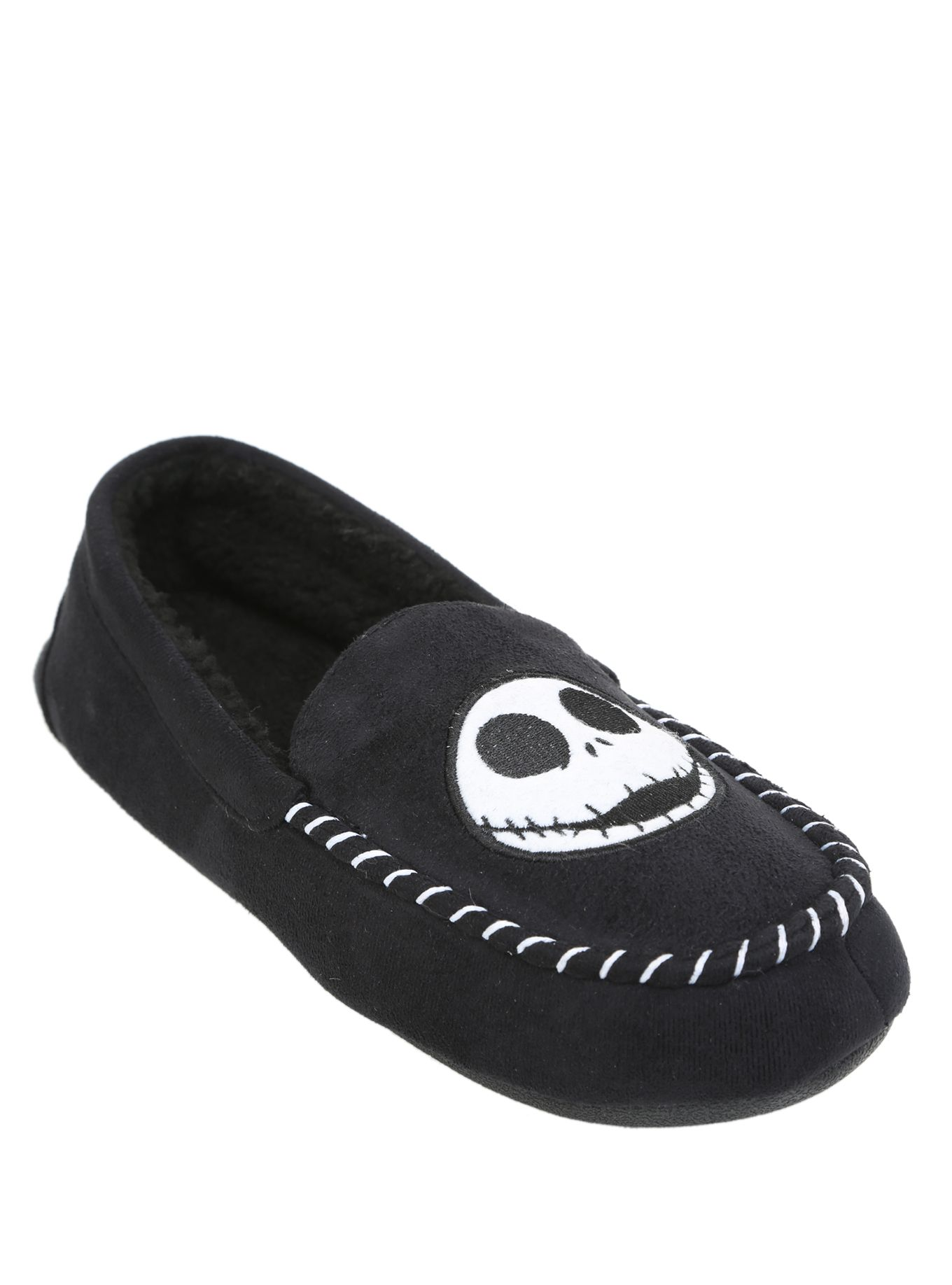 The Nightmare Before Christmas Jack Guys Moccasin Slippers ...