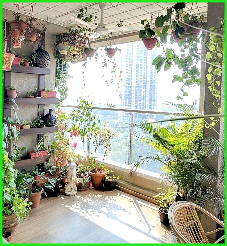 Ein Balkongarten in Mumbai: Terrace Reveal -