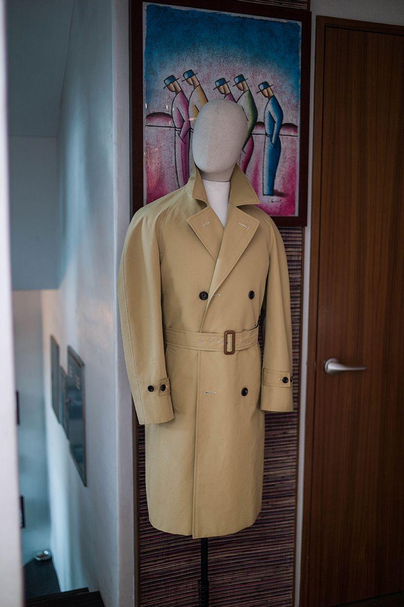 Waterproof rain coat