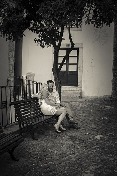 Sessão de Namoro. Lisboa, Alfama.