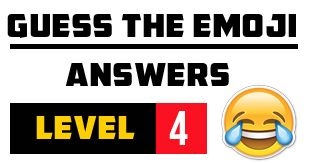 Pin By Justin Giles On Guess The Emoji Level 4 Cheats Guess The Emoji Answers Emoji Answers Guess The Emoji