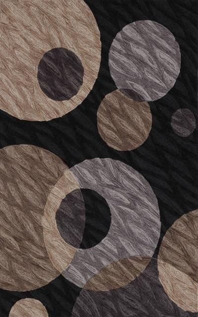 RugStudio presents Dalyn Studio SD-24 Black Hand-Tufted, Good Quality Area Rug