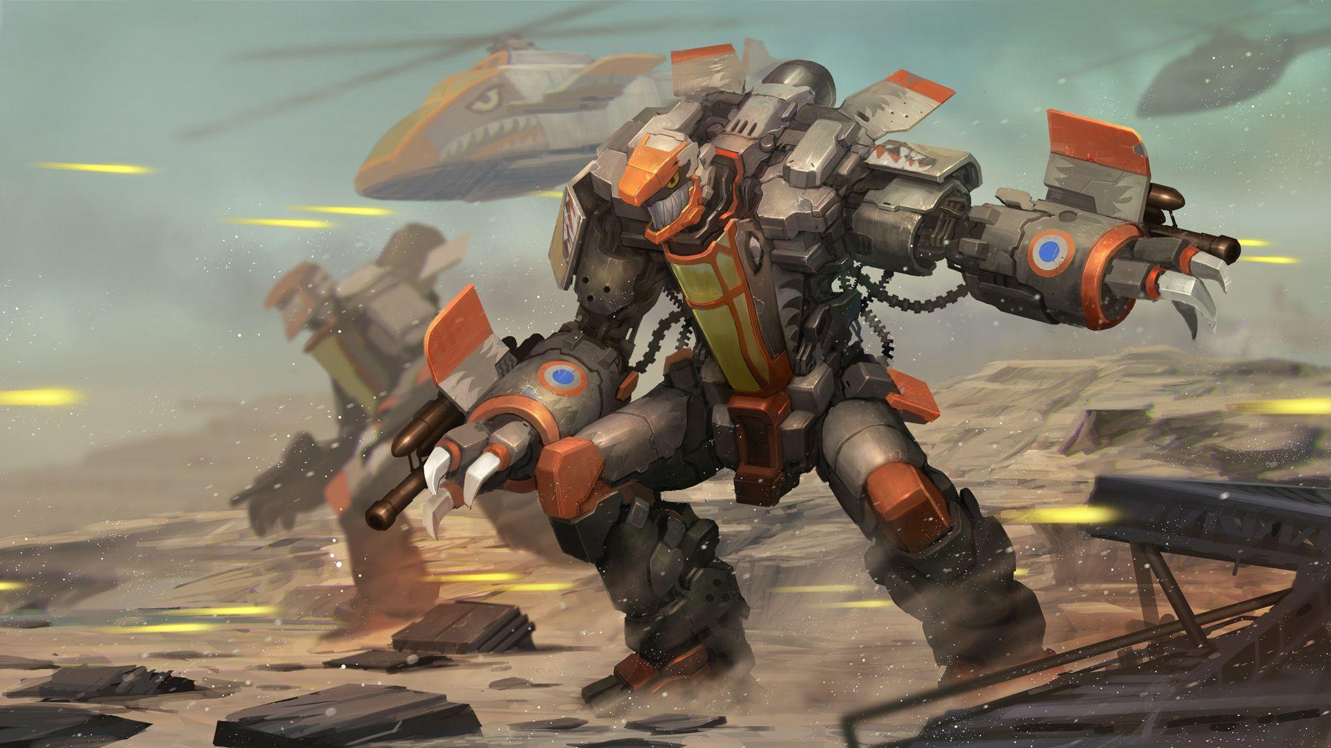 Airmech Strike On Steam Hd Wallpaper Game Download Free Video Game Art
