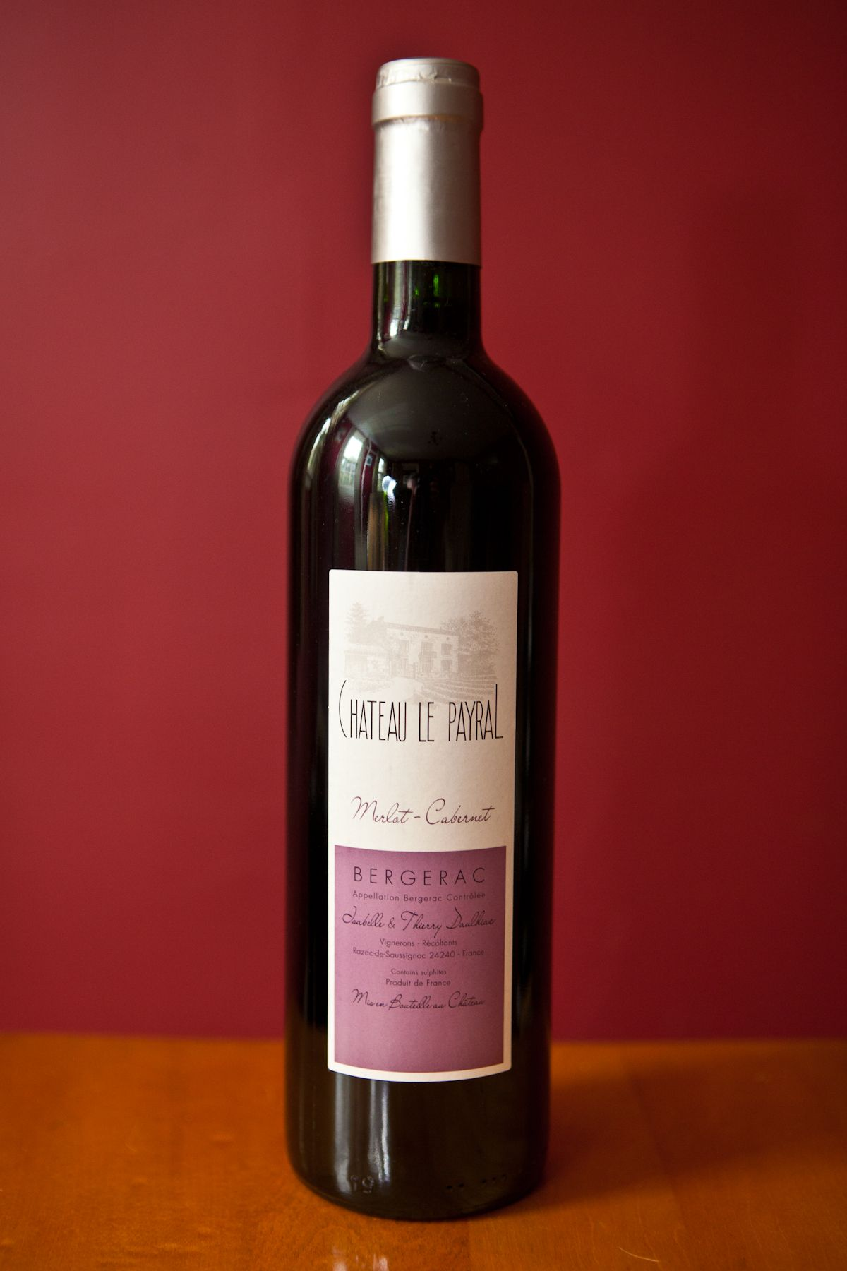 Chateau Le Payral Wine Bottle Organic Wine Wines