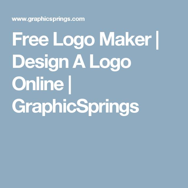 free logo maker design a logo online graphicsprings bookmark