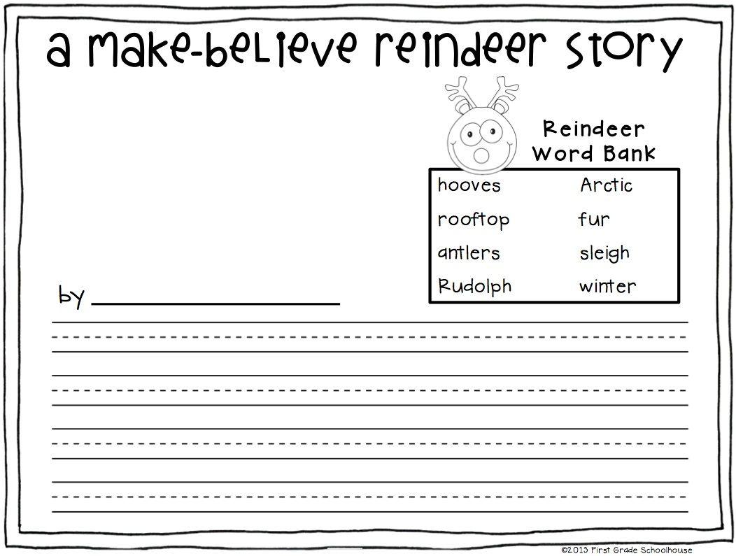 Christmas Writing For Second Grade