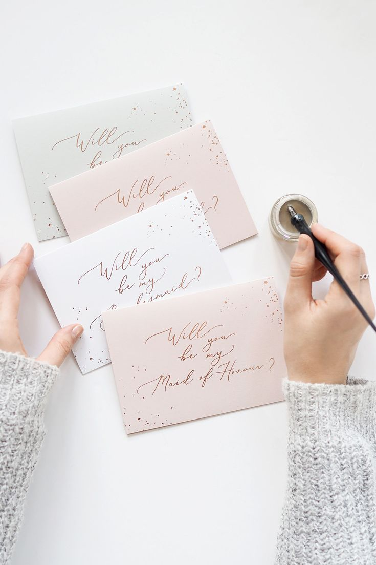 Bridesmaid proposal cards wedding planning will you be