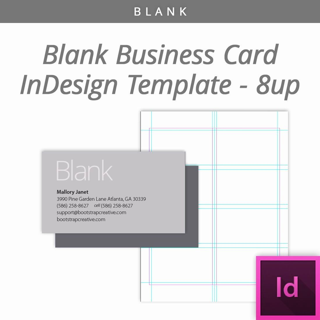 Indesign Business Plan Template Fresh Blank Indesign
