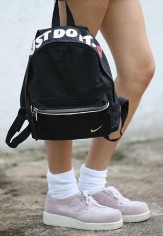 Vintage  90s Black Nike   Just Do It