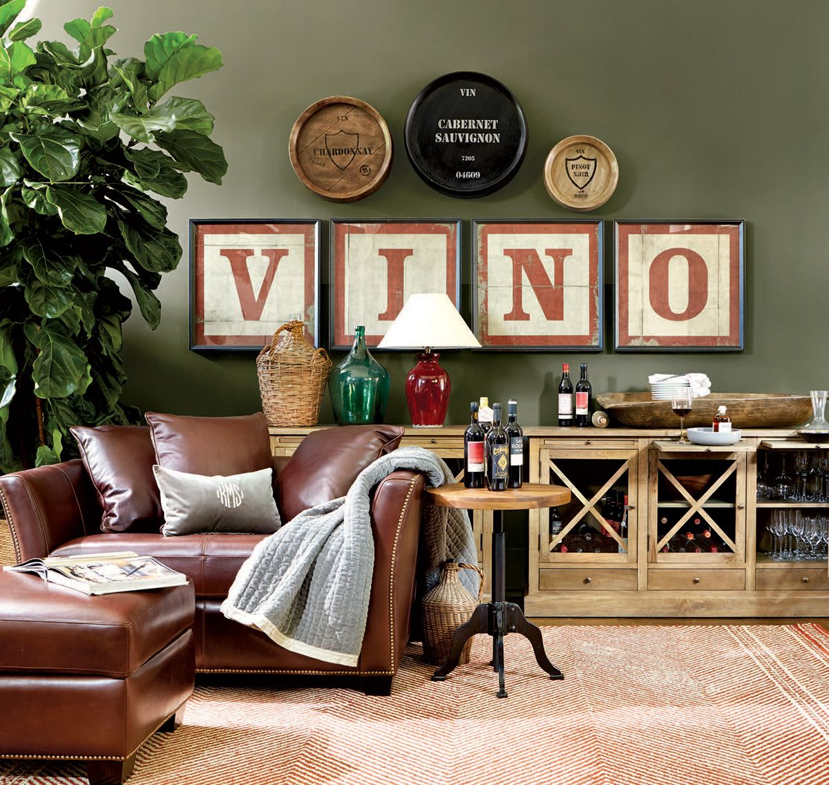 Wine Themed Home Decor: Living Rooms Ideas For Decorating