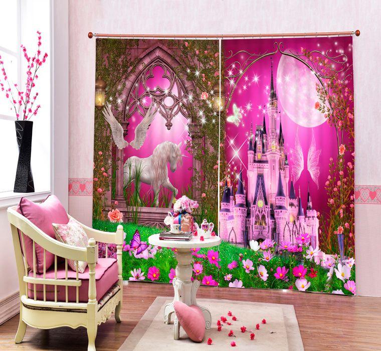 moderne luxe chinese 3d roze meer zwaan foto verduisteringsgordijnen voor beddengoed woonkamer hotel gordijnen cortinas para