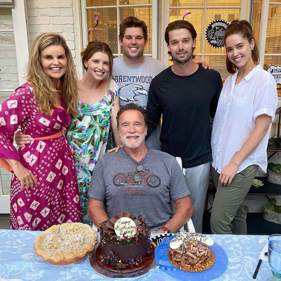 Arnold Schwarzenegger S Love Child Joseph Appears To Skip Dad S Birthday Bash In 2020 Arnold Schwarzenegger Birthday Patrick Schwarzenegger Schwarzenegger