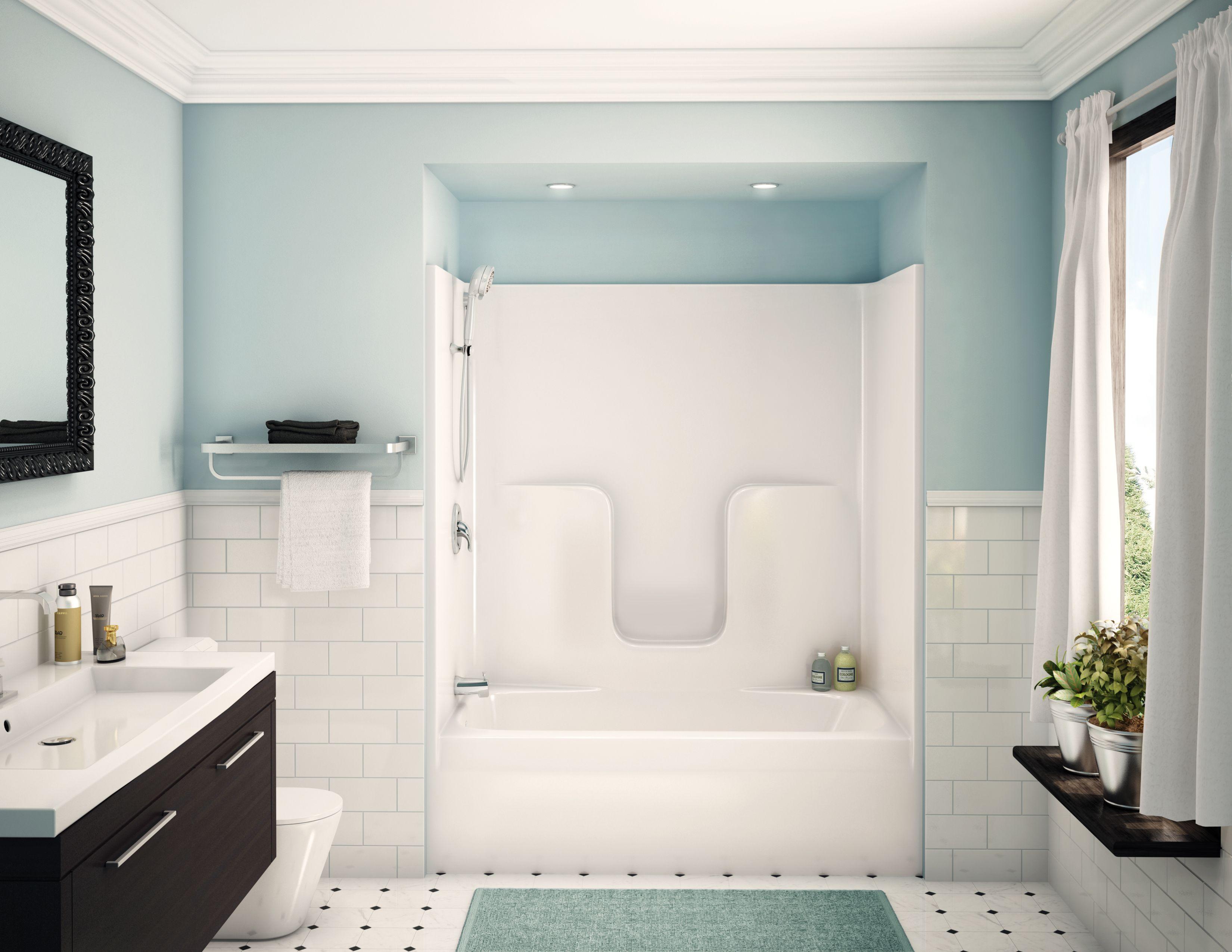 alcove tub showers bathtub aker maax shower doors enclosures and ...