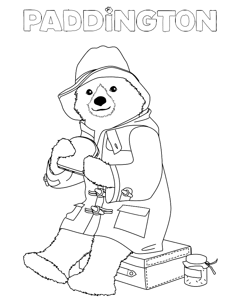Paddington Coloring Pages - Best Coloring Pages For Kids  Bear