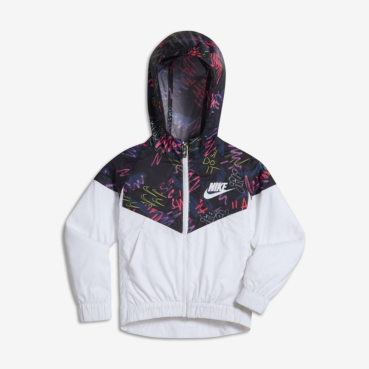 huge selection of b4fd8 07b42 Nike Sportswear Windrunner Little Kids  (Girls ) Jacket - 6X