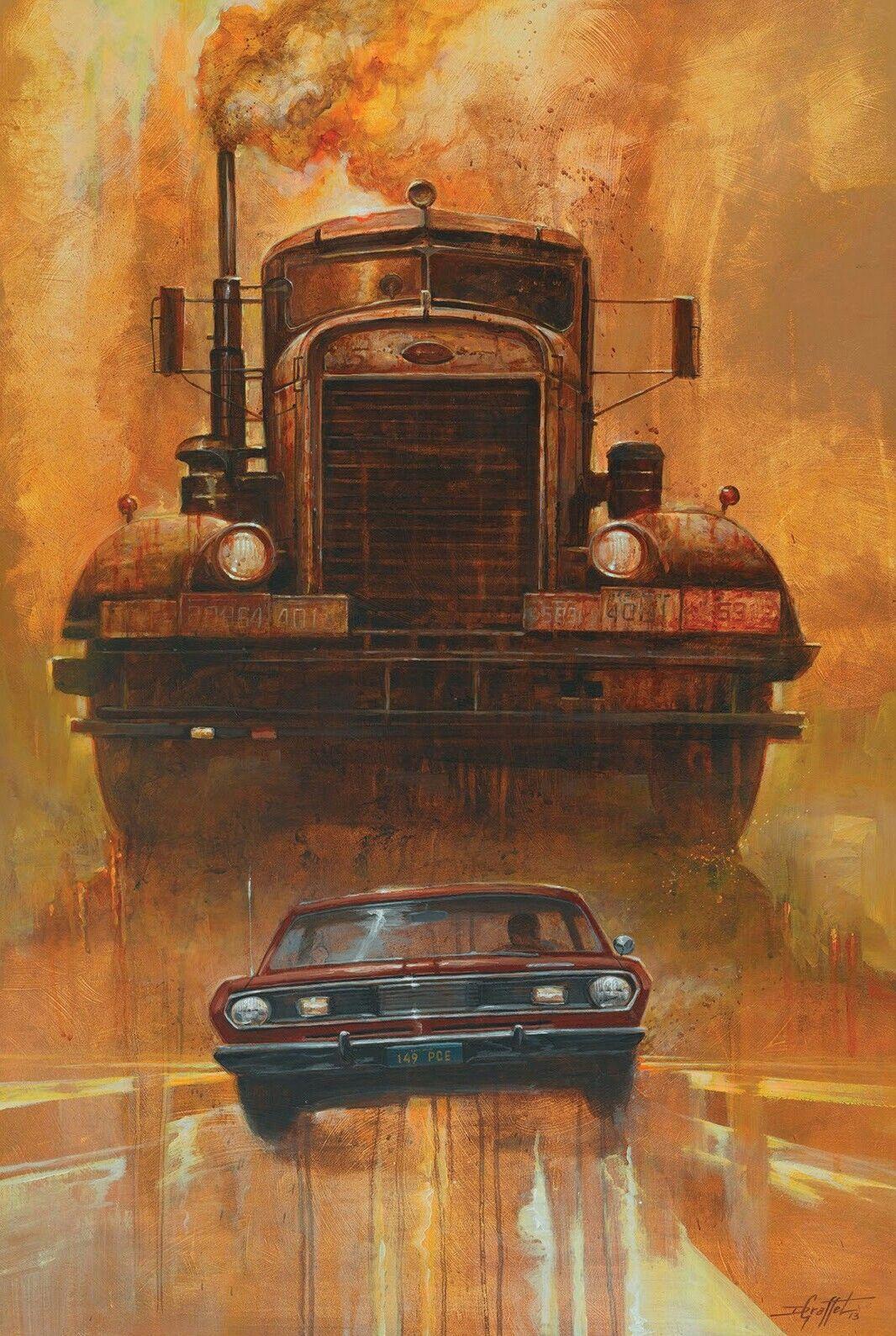 Pin by Corey Bond on Car Wars Horror movie art, Movie