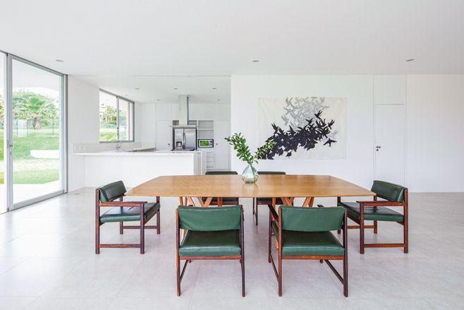 casa em salto, são paulo | projeto: amz arquitetos #amzarquitetos #dinningroom