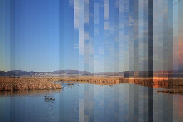 Xárene Eskandar's series Waters Re~ compresses hours into minutes.