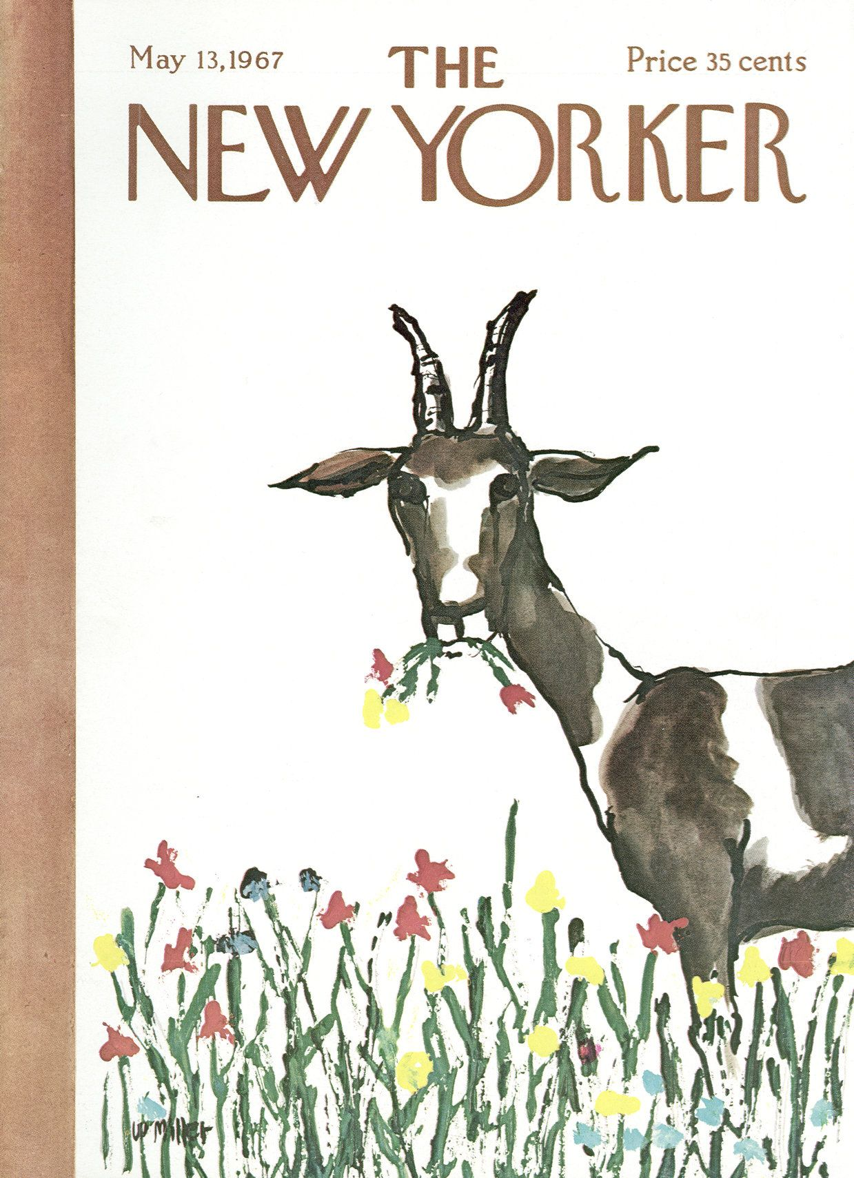 The New Yorker - Saturday, May 13, 1967 - Issue # 2204 - Vol. 43 - N° 12 - Cover by : Warren Miller