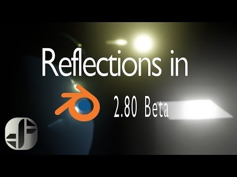 Blender 2 8 Tutorial | Eevee | Screen Space reflections and Plane