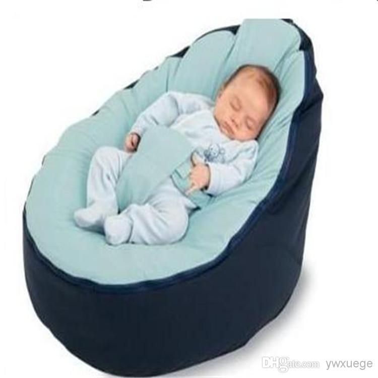 Baby Chairs Wholesaler Ywxuege Sells Wholesale Promotion Multicolor Bean Bag Snuggle Bed Portable Seat Nursery Rocker Multifunctional 2 Tops