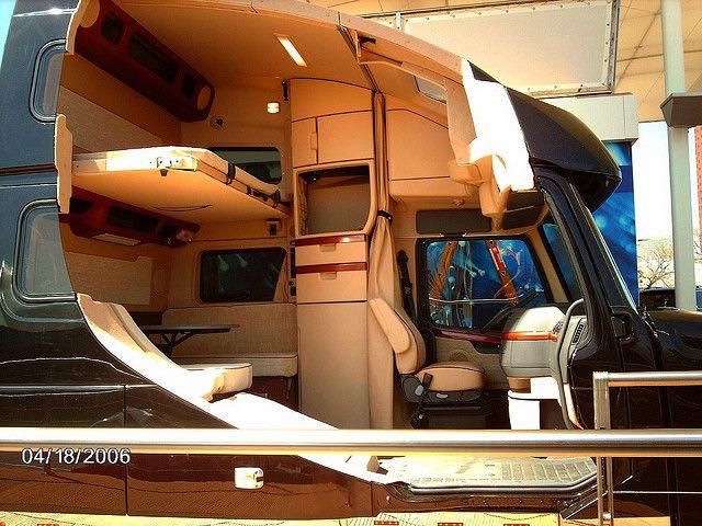 Volvo vn780 cutaway interior trucks volvo truck interior trucks for Volvo semi truck interior accessories