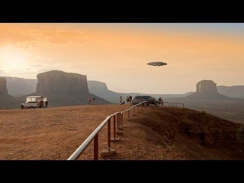 NEW UFO SIGHTING Caught sight ufo and aliens landed in the desert shocking NEW PHOTAGE - YouTube