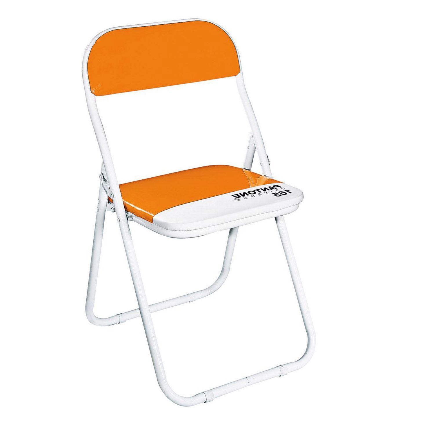Pantone Chaise Pliante Orange Achica Chaise Pliante Chaise Pantone