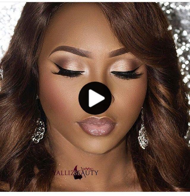 Wedding makeup inspiration. Soft Glam Makeup Black Women Wedding Inspiration MAKE Soft Glam Makeup