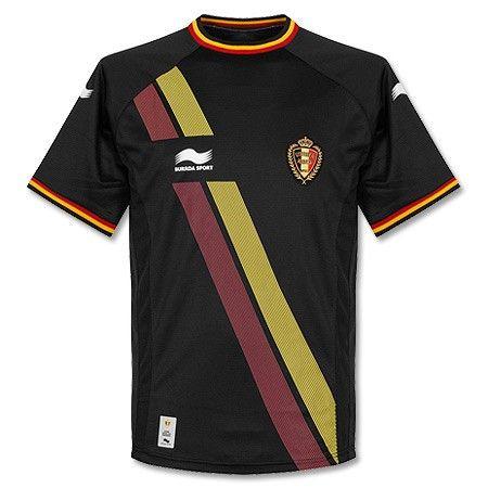 Camiseta de Bélgica 2014-2015 Visitante Seleccion Nacional ab136b4d8f9d2
