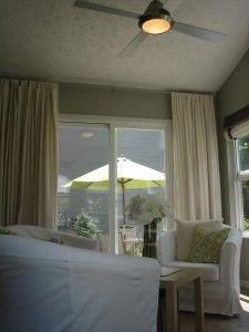 Softening The Sliding Glass Door For Breakfast Area Floor To Ceiling Curtains Floor To Ceiling Curtains House Tweaking Living Room Door